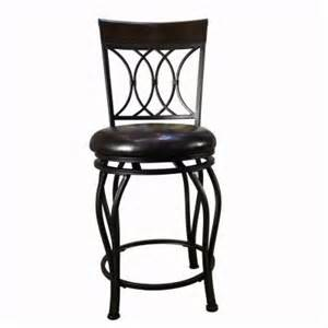home depot shop stool classic 30 in swivel bar stool in brown cnf1458 at