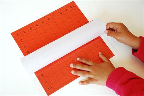 Elemen Pres Plastik 20cm r 233 aliser la table de pythagore de montessori mod 232 le en