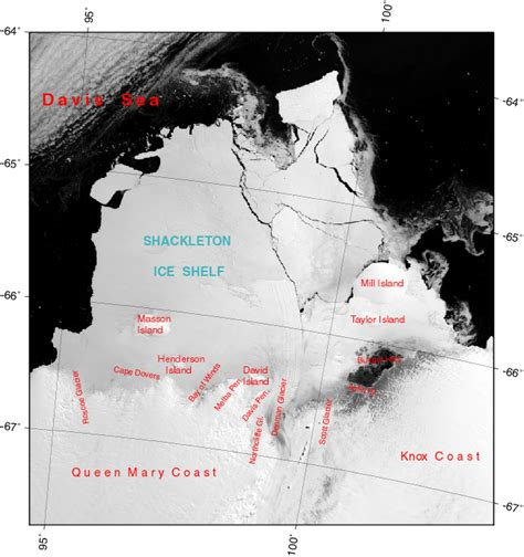 Shackleton Shelf by Images Of Antarctic Shelves