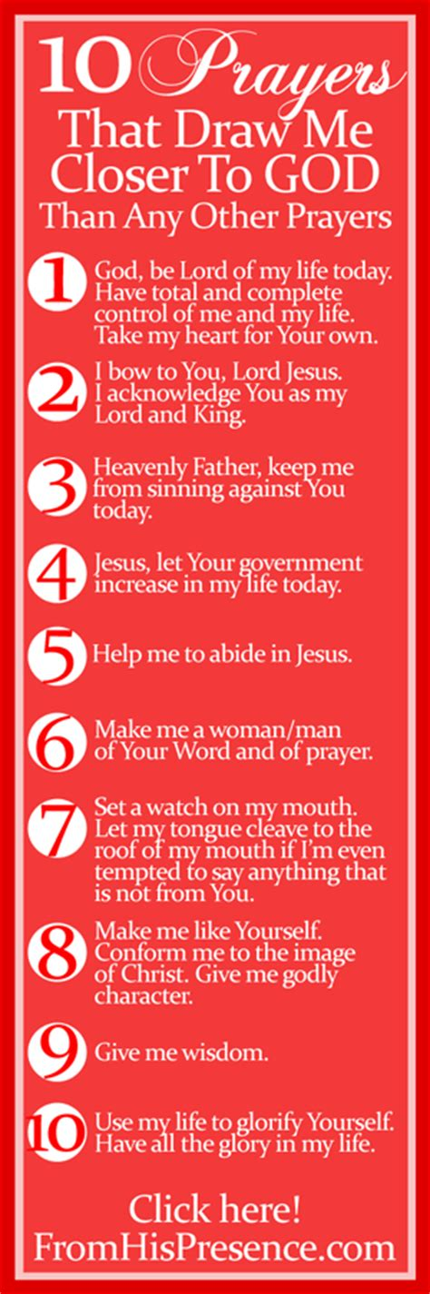 Draw Near To God Prayer Journal by 10 Prayers That Draw Me Closer To God Than Any Other