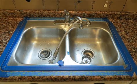 Best Caulk For Kitchen Sink Caulk Kitchen Sink How To Caulk The Kitchen Sink With Pictures Wikihow How To Caulk The