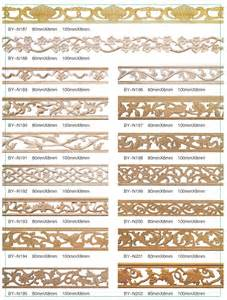 quality and low prices embossed wood moulding linyi
