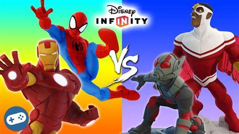 spiderman iron man ant man falcon marvel