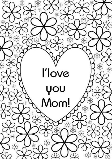 coloring pages love mom i love you mom coloring pages coloring home