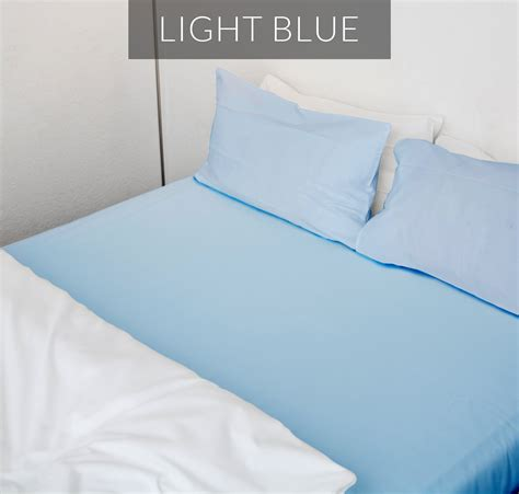 light blue bed sheets 1800 thread count sheet collection arizona bed sheets