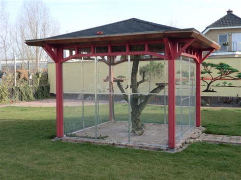 pavillon kleiner als 3m volierenbau m 246 nning voliere k 228 fig gehege volierenbau