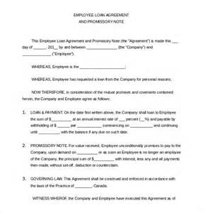 Employee Loan Agreement Template loan application templates 6 free sle exle