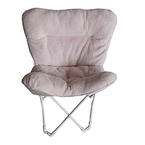 pink butterfly chair bed bath and beyond folding plush butterfly chair bed bath beyond