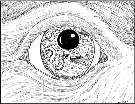 coloring pages of two eyes best photos of diaghram two eyes coloring page eye snake