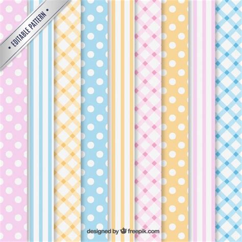download pattern pastel variety of pastel patterns vector free download