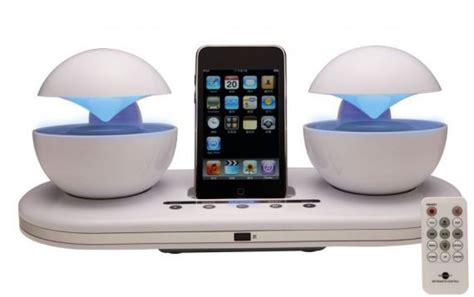 best ipod docking station icrystal stereo ipod station with 2 speakers gadgets matrix