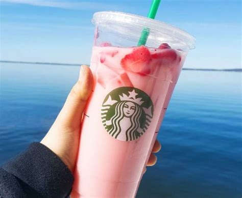 Pink Drink Joins Starbucks Beverage Menu   Starbucks Newsroom