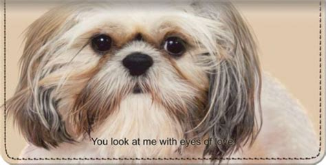 shih tzu covers shih tzu checkbook covers checkbook wallets at personalchecksusa