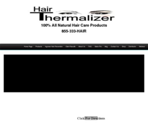 hair thermalizer raywaltershair com hair thermalizer home