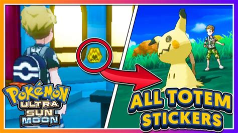 Ultra Moon Totem Stickers