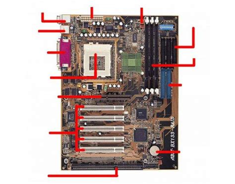 layout of pc motherboard motherboard layout diagram laptop motherboard diagram