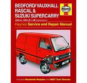 Haynes Manual Vauxhall Rascal Suzuki Supercarry 1986  1994