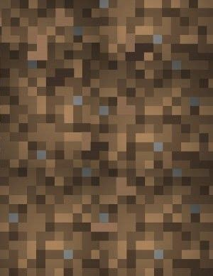 free printable minecraft wrapping paper free minecraft wrapping paper pattern in brown dirt block