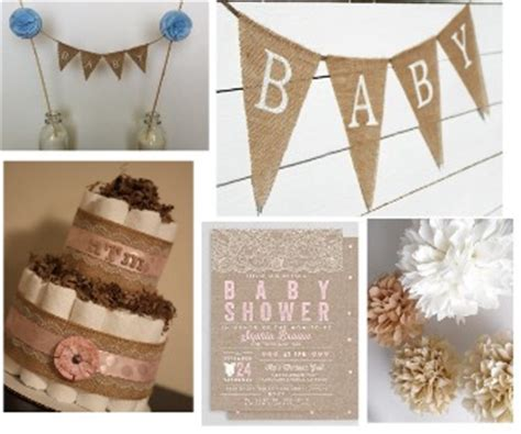 rustic baby shower ideas centerpieces and favors for having a rustic baby shower
