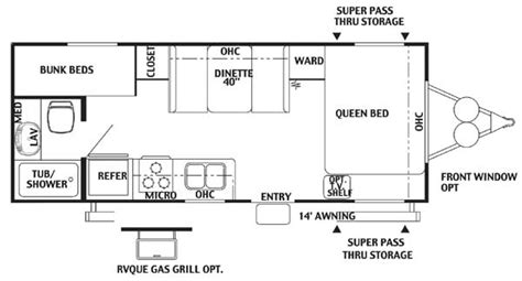 2006 salem travel trailer floor plans 28 2006 salem travel trailer floor plans 2004