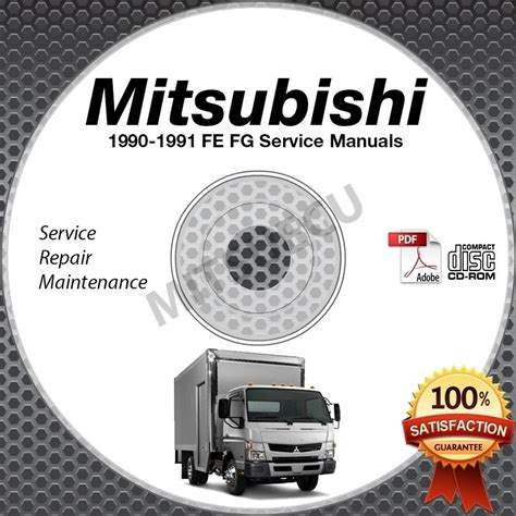 service manual 1991 mitsubishi truck service manual free download service manual automotive 1990 1991 mitsubishi fuso fe fg service manual cd rom repair shop 4d31t 4d31t2