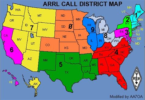 Arrl Section List by Foreign Licenses Operating In U S