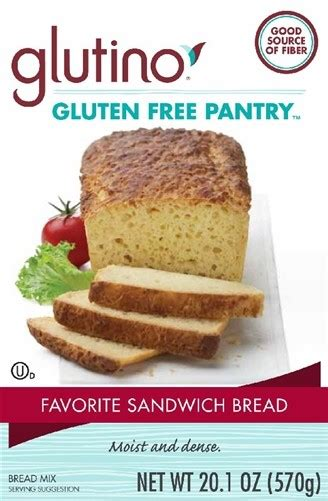 Gluten Free Pantry Bread Mix by Gluten Free Pantry Favorite Sandwich Bread Mix 6 Pack