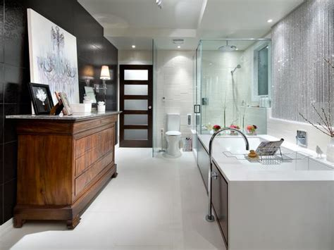 candice olson bathroom design modern design spa like conveniences hgtv