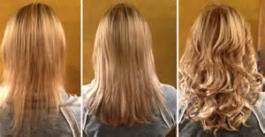 pics pf extentions with hair how to choose the right hair extensions all salon prices