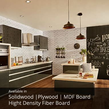 Which Material Is Best For Modular Kitchen by Modular Kitchens Buy Modular Kitchen In India