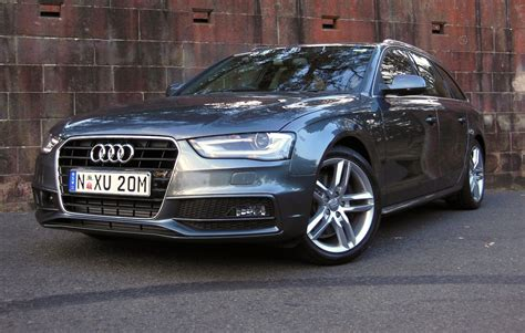 Audi A4 2013 2013 audi a4 avant b8 pictures information and specs