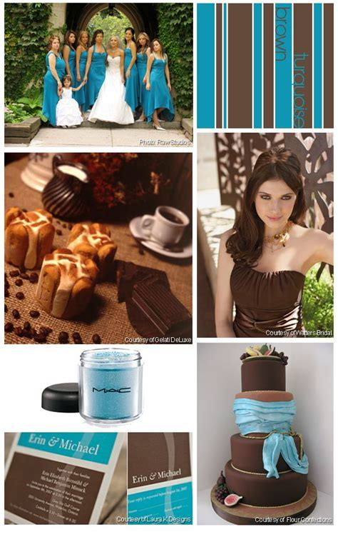 37 best Turquoise and Brown Wedding Ideas images on