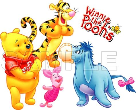 C22 Decal Beat Dekal Custom Winnie The Pooh Lucu Black Putih Sticker M winnie the pooh eeyore t shirt iron on transfer decal 2