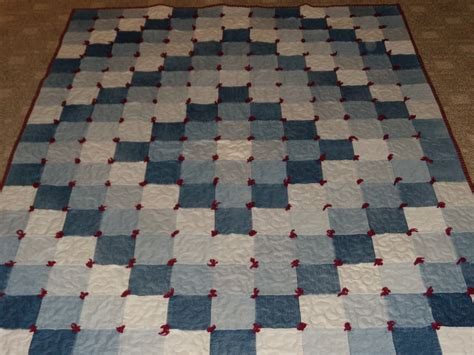 Jean Quilt Pattern by Sew In Peace Recycle To Make A Quilt