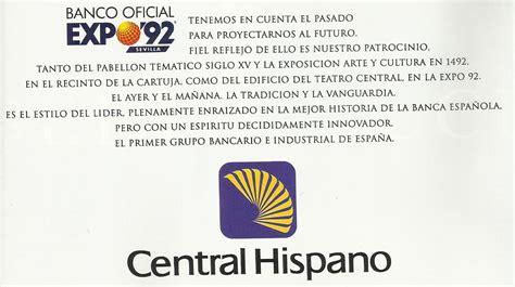 banco hispano asociaci 243 n legado expo sevilla