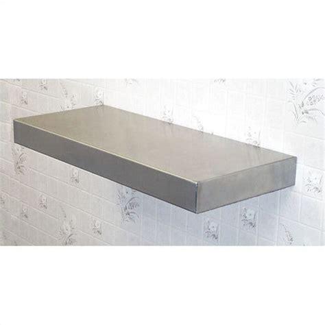 stainless steel floating shelf