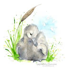 amy holliday illustration the ugly duckling the