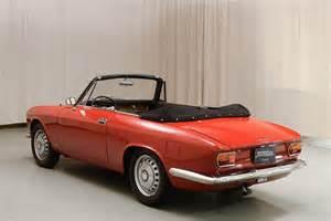 Alfa Romeo Giulietta Convertible Used 1966 Alfa Romeo Giulietta Pre 85 For Sale In