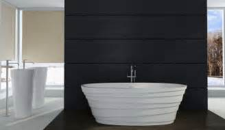 Home Design 15 X 50 Freistehende Badewanne Aus Mineralguss Athene Stone Wei 223
