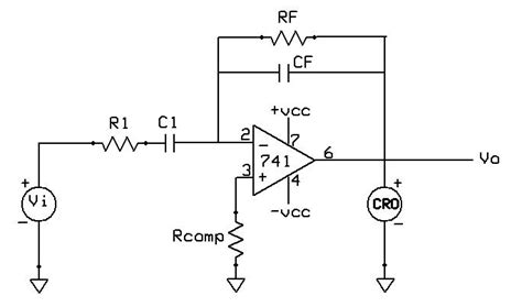 integrator and differentiator circuit theory integrator and differentiator using op theory