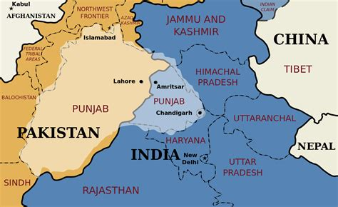 map of punjab file punjab map svg wikimedia commons