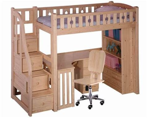 loft bed woodworking plans with stairs woodworking projects plans
