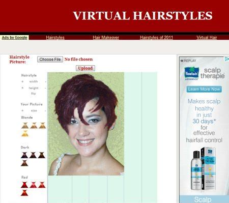 haircut virtual upload photo 5 free websites for virtual hairstyles