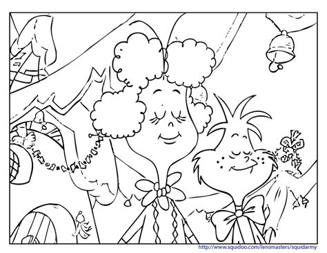 grinch tree coloring page the grinch who stole christmas coloring sheets coloring pages
