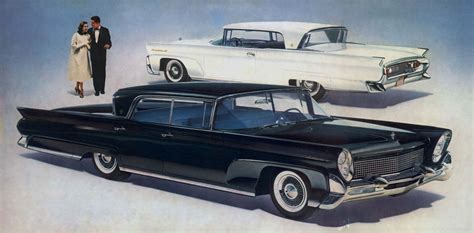 Largest Cadillac Sedan Curbside Classic 1960 Lincoln Sedan Trying To Out