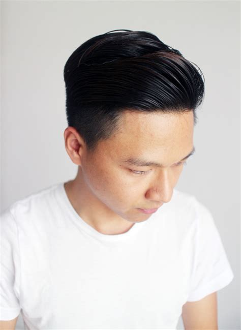 asian comb back hair how to style slicked back undercut grooming max mayo