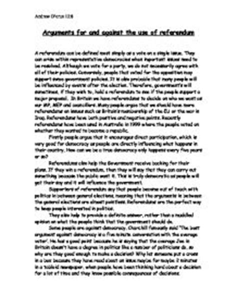Penalty Essay Against by Essay Arguments Against Penalty