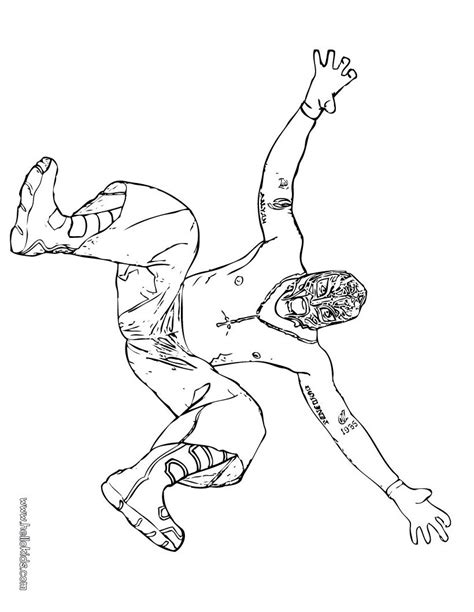 Rey Sin Cara Free Coloring Pages Cara And Mysterio Coloring Pages