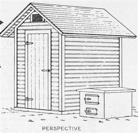 Smoke House Plans Wood Smoke House Plans Build A Smokehouse With These Simple Free Plans Or Use Them As Tool