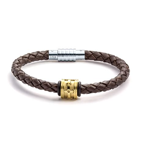 leather jewelry aagaard mens jewelry leather bracelet no 1215 landing